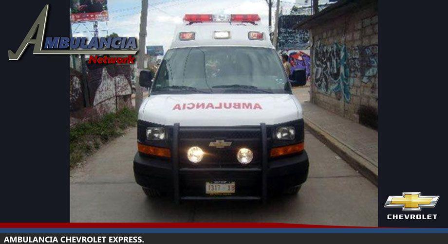 Ambulancia Chevrolet Express Derechos Reservados C 2018 Ambulancia