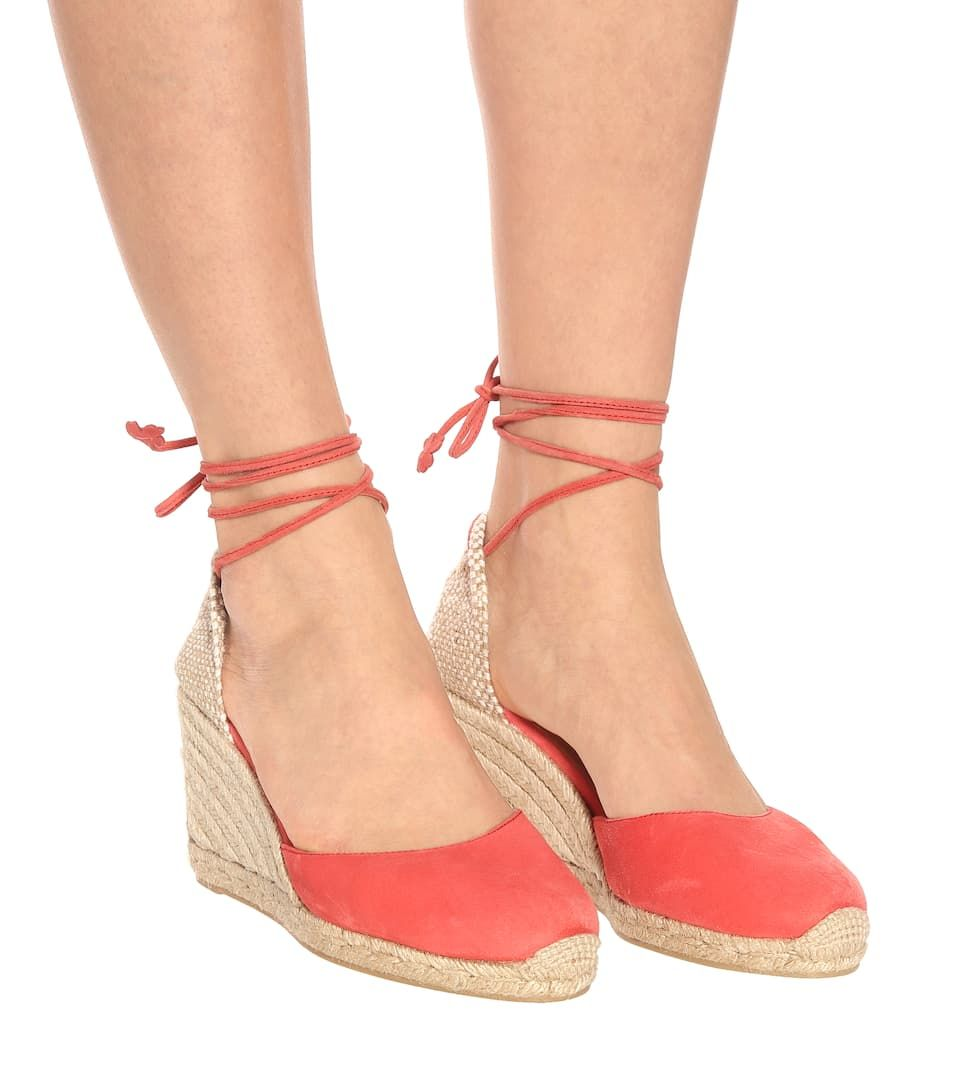 ddad90abf8a Castaner Carina suede wedge espadrilles in 2019   Shoes ...