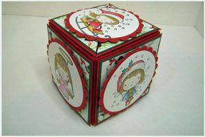 Tutorial Secret Box - Splitcoaststampers