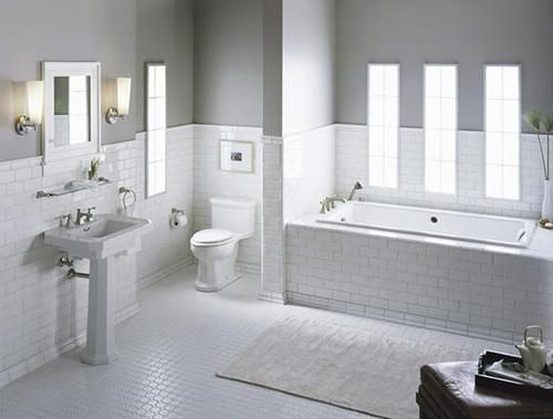 best white subway tile ideas — home design photos | bathrooms