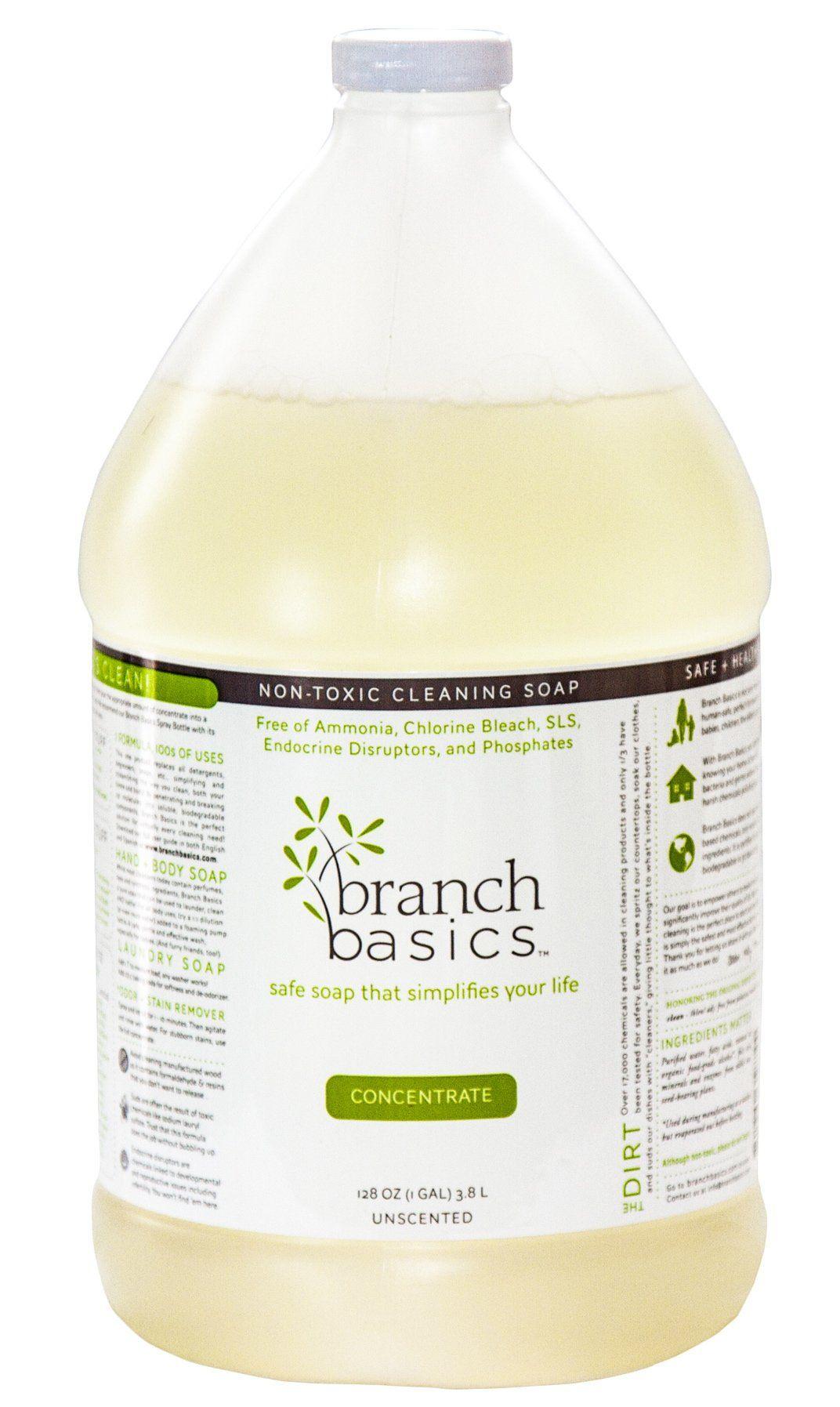 Branch basics soap 1 gallon concentrate 128