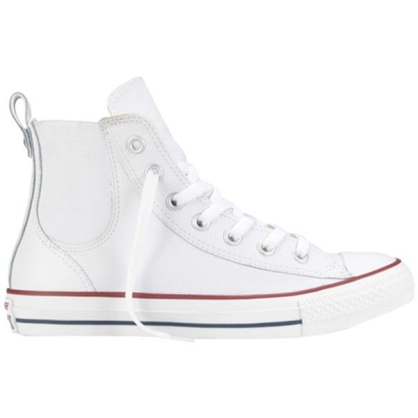 Converse Chuck Taylor All Star Leather Chelsea Trainers fa51545b9
