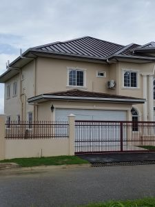 House For Sale In Brentwood Palms This Exclusive Chaguanas Gated Community Is Situated Seconds From The Sir Solo Wellness Design Building A House Real Estate