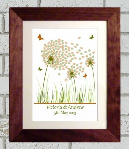 A4-PERSONALISED-DANDELION-CLOCK-WEDDING-FINGERPRINT-TREE-GUEST-BOOK