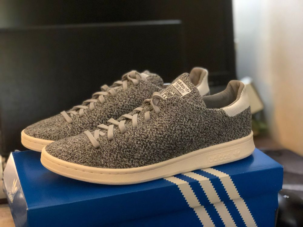 5d57b7b67 ADIDAS STAN SMITH ORIGINALS PRIMEKNIT Grey White Marled S80069 Mens 9 NEW  #fashion #clothing #shoes #accessories #mensshoes #casualshoes (ebay link)