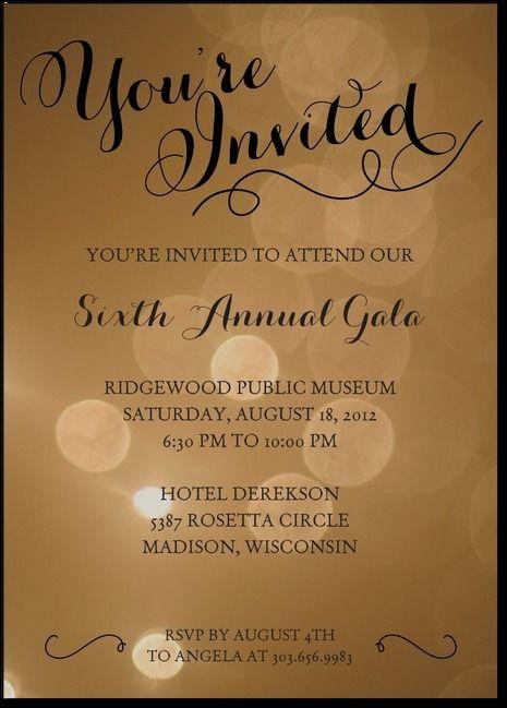 Sparkles Dinner Invitation Invitation Card Format Corporate Party Invitation Event Invitation