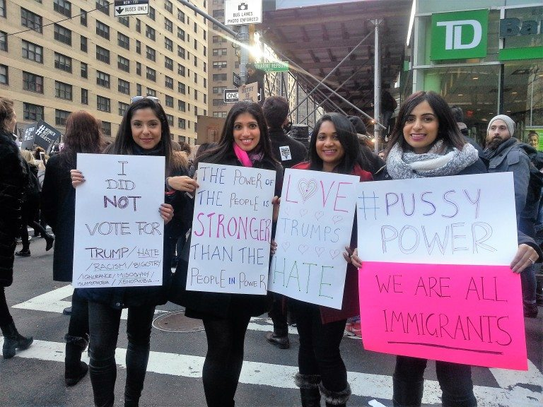 Lassi With Lavina in 2020 Womens march, Blog photo