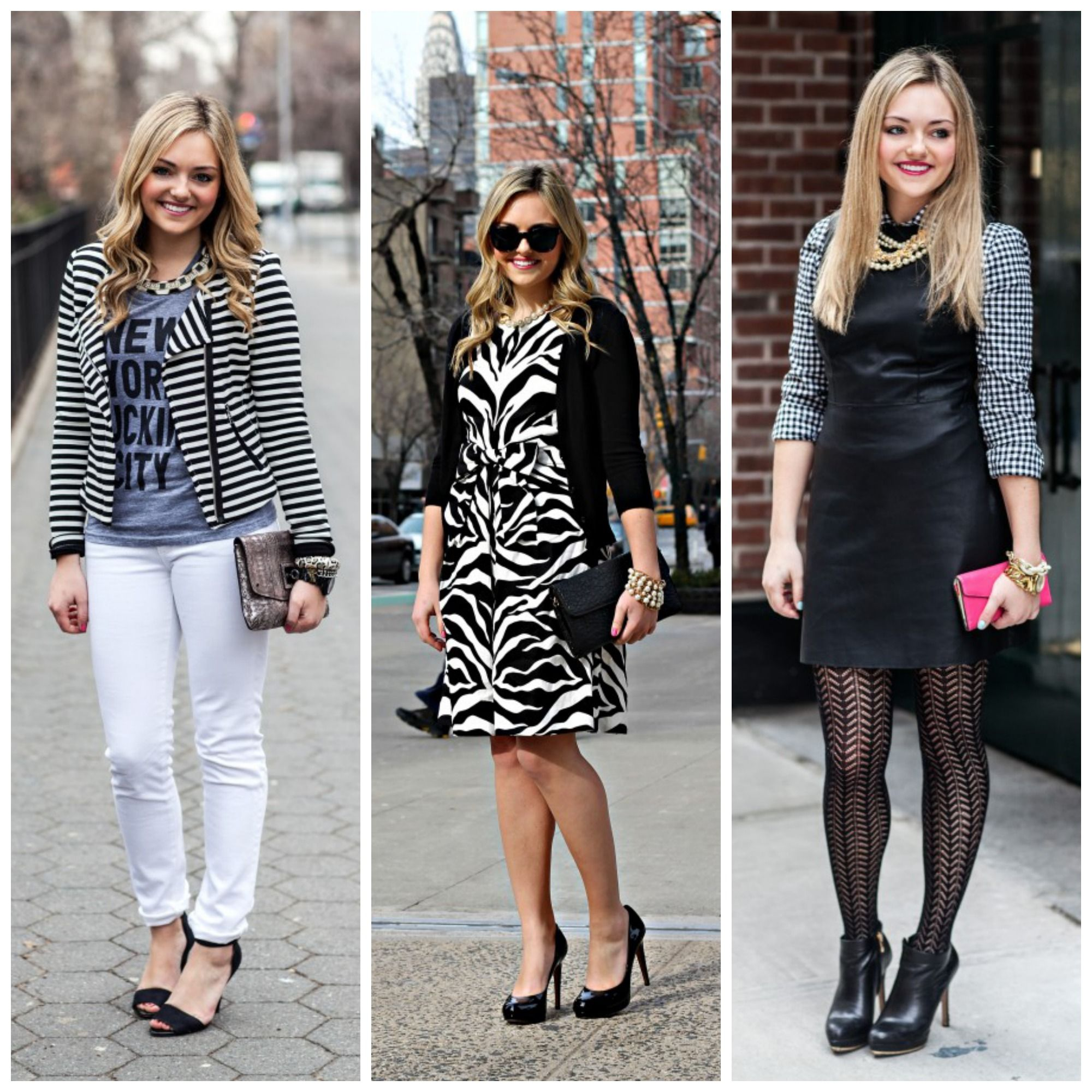 Lots of black & white on Bows & Sequins this week! | Fashion