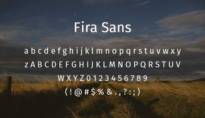 fira-sans-best-free-sans-serif-fonts-2014 | San Serif Fonts