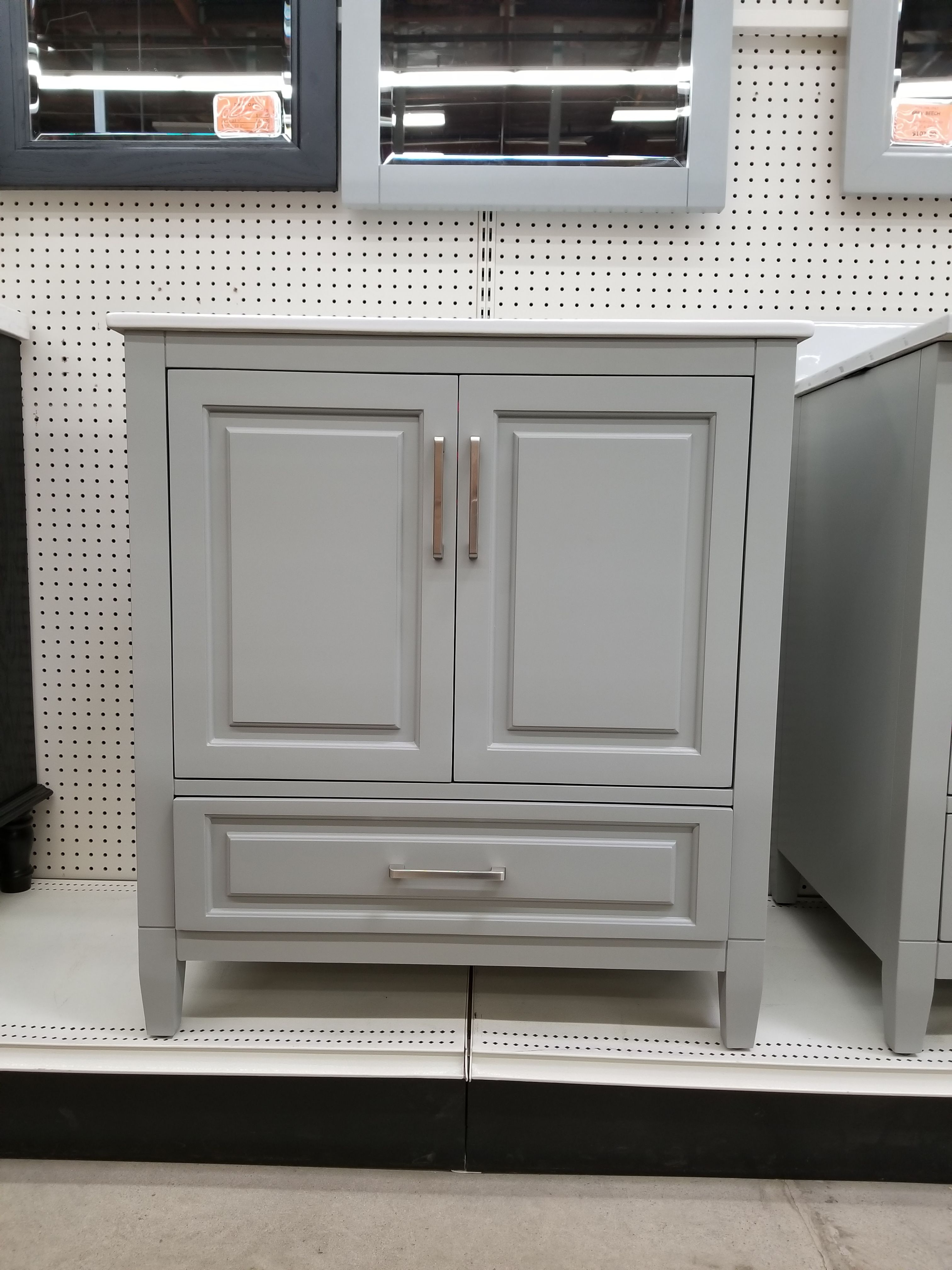 Saint George Vanity Get A Quote At Builders Surplus Framed Cabinet Kitchen Cabinets In Bathroom Mdf Doors