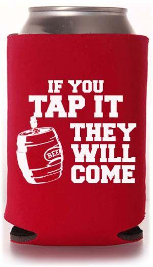 One Color Collapsible Beer Can Coolers Beer Koozies Funny Koozies Koozies