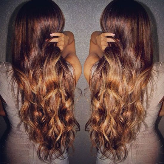 2014 Spring Celebrity Sombre Hair Colors Black On Top Hair Styles Sombre Hair Color Sombre Hair