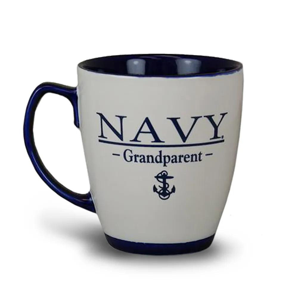NAVY GRANDPARENT MUG in 2020 Mugs, Navy home decor