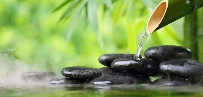 feng shui farben schwarze steine bmbus gr ne pflanzen wasser zen einrichtungsideen. Black Bedroom Furniture Sets. Home Design Ideas