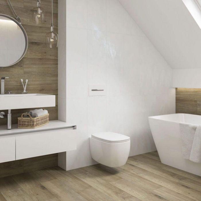 14+ Bathroom flooring tile effect ideas in 2021