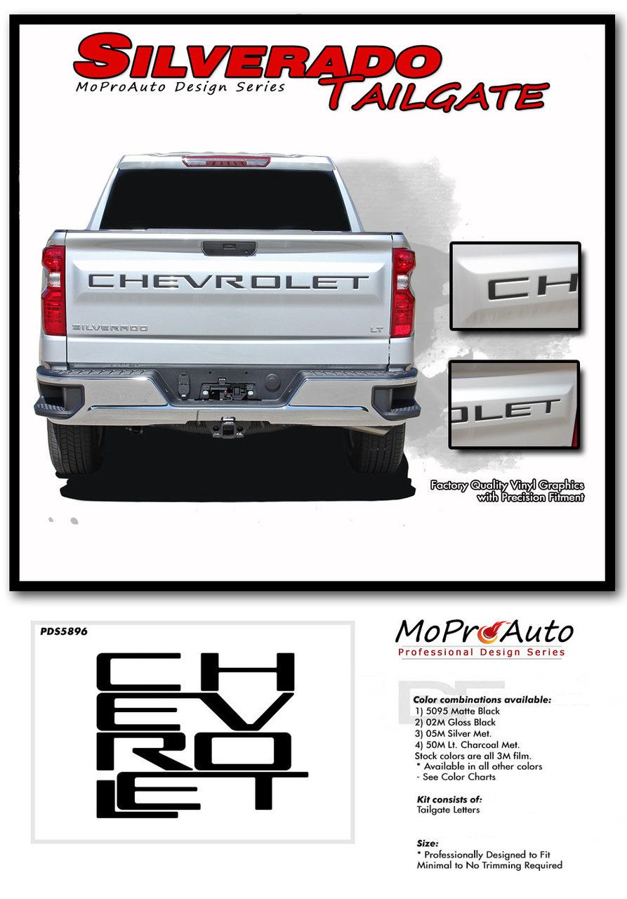 Pin On 2019 2020 Chevy Silverado Stripes Truck Vinyl Graphics Decal Kits