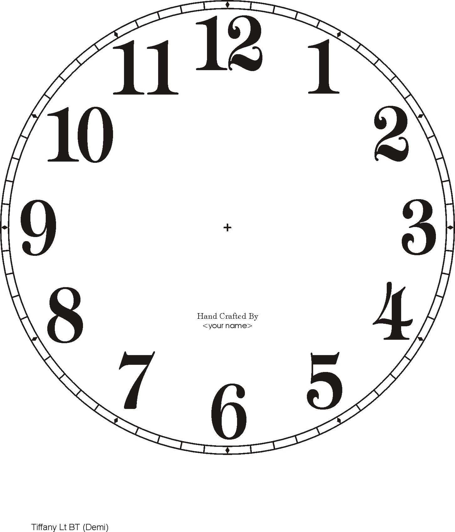 photograph regarding Free Printable Clock Face With Hands referred to as downloadable clock faces printables Clock experience printable