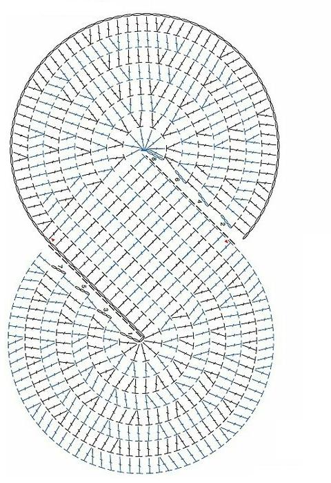 Chal Tejido en Espirales - Patrones Crochet | clara | Pinterest ...