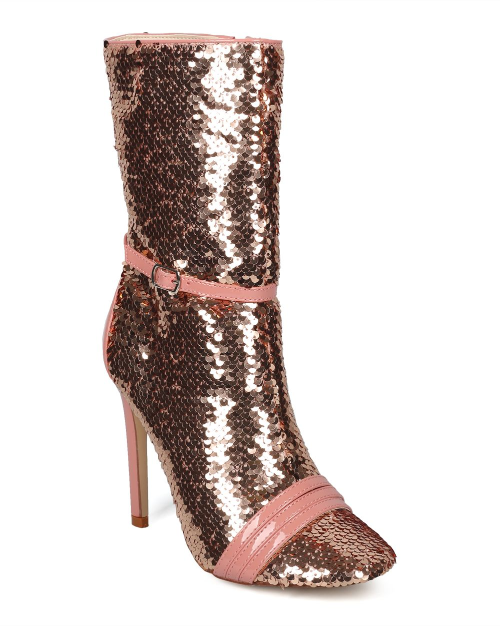 Women Round Toe Belted Stiletto Tall Boot - HF55 by Cape Robbin Collection