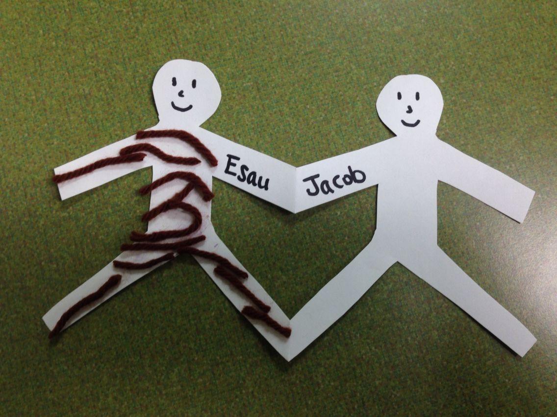 Jacob and Esau   Sunday School - 3 year olds   Pinterest   Escuela ...