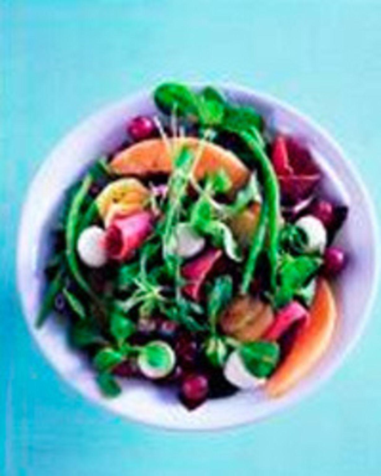 6 annosta 8 kiinteää perunaa20 viiriäisenmunaa1-2 lajia salaattia, esim. tammenlehti, jäävuori, vuonankaali tms.1 punasipuli1 rasia...