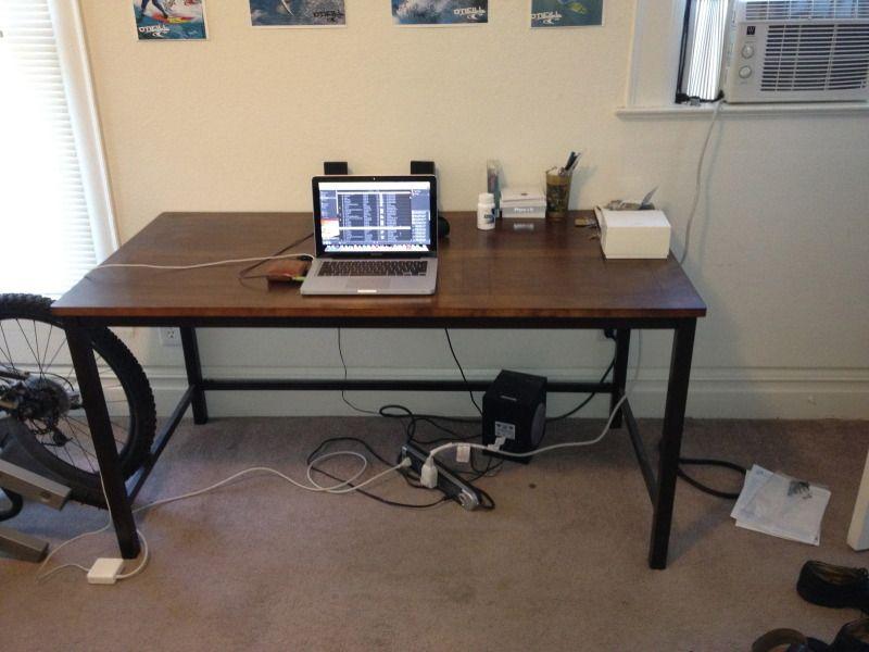 desk 150 | Desk, Home decor, Standing desk