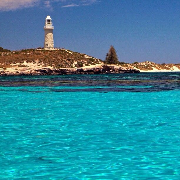 Rottnest Island Australia: Bathurst Point Lighthouse, Rottnest Island, Western