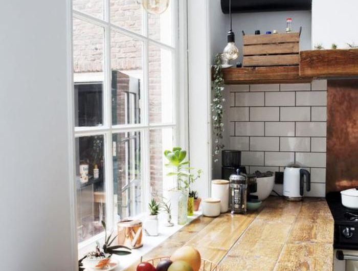 La cuisine blanche et bois en 102 photos inspirantes Studio