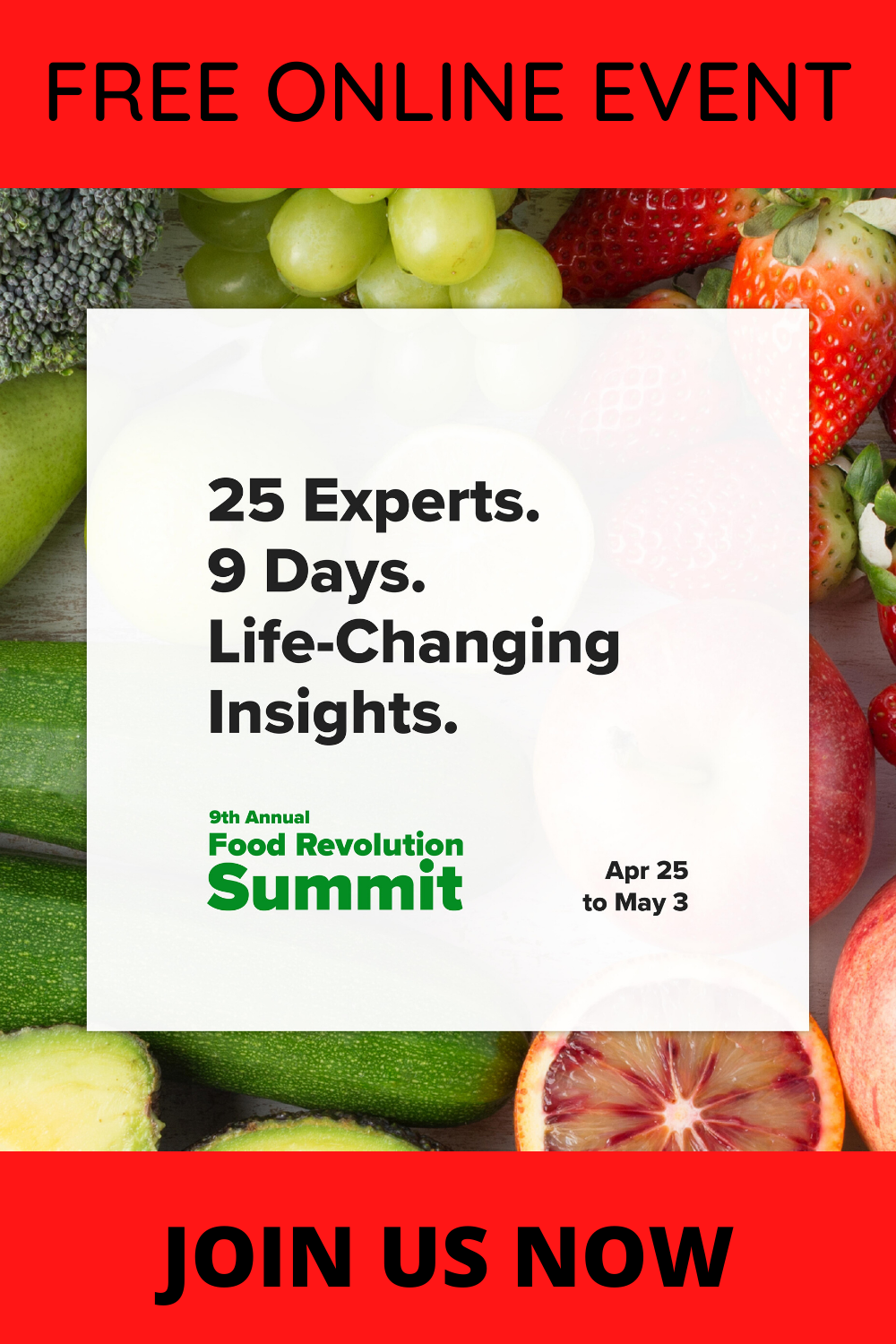 Join the FREE 2020 Food Revolution Summit