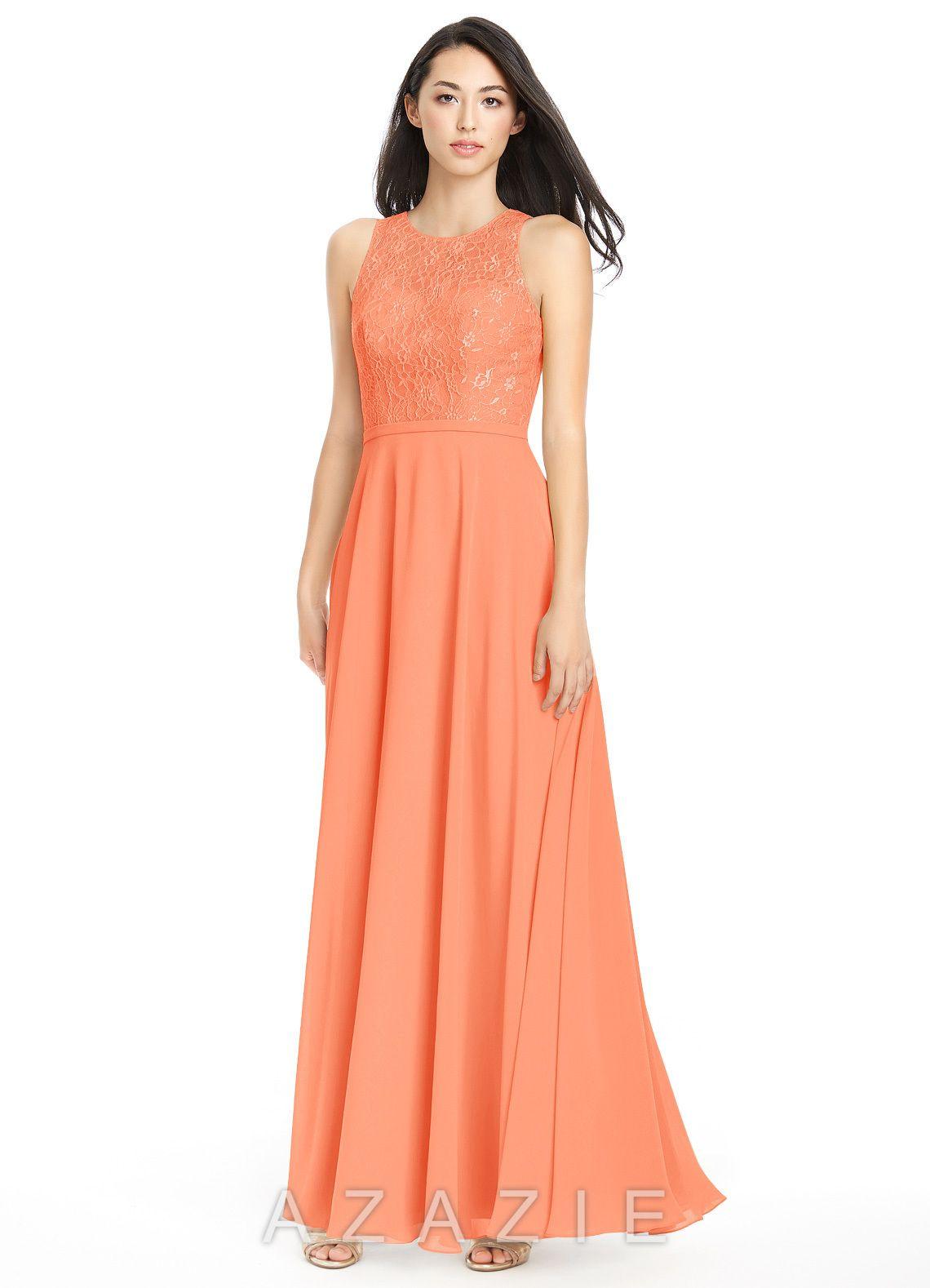 ef23b62200ec5 Frederica | A&R Wedding | Bridesmaid dresses, Peach bridesmaid ...