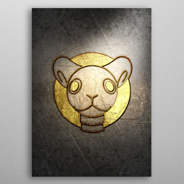 ANIME&GAME_METALLIC GOLD