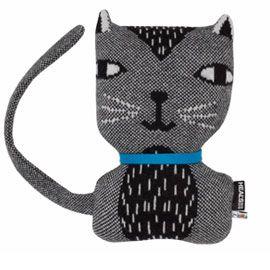 a cute & fab knitted cat cushion by donna wilson