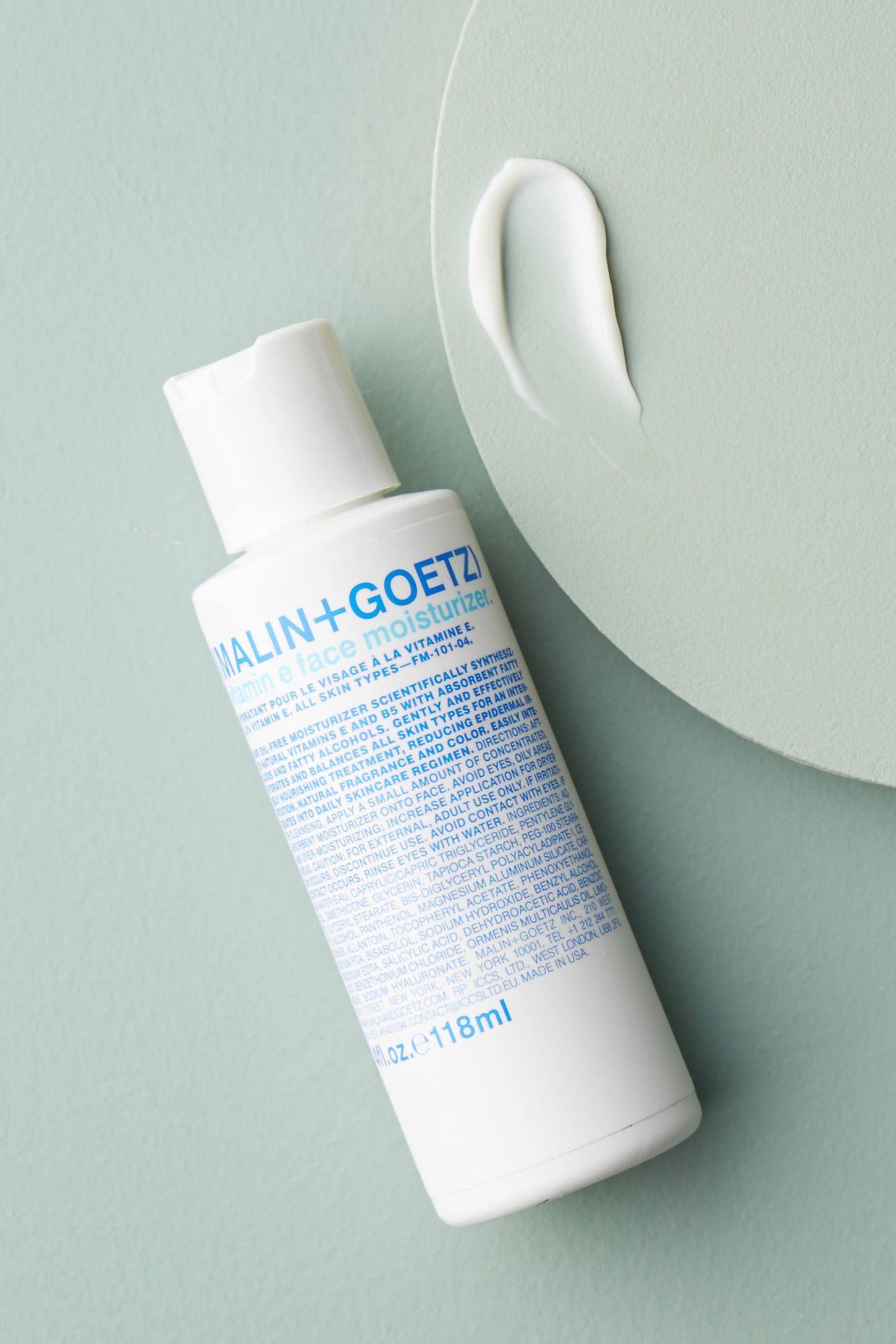Malin Goetz Vitamin E Face Moisturizer By In White Size All Bath Body At Anthropologie Tumericf In 2020 Face Moisturizer Face Moisturizer Anti Aging Moisturizer