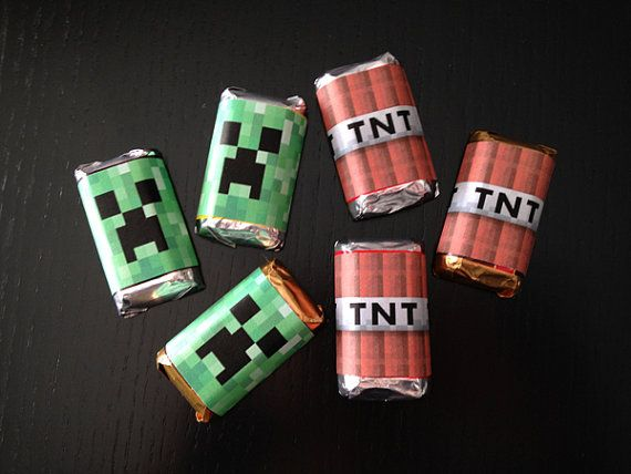 INSTANT DOWNLOAD Printable Minecraft Inspired Miniature ...