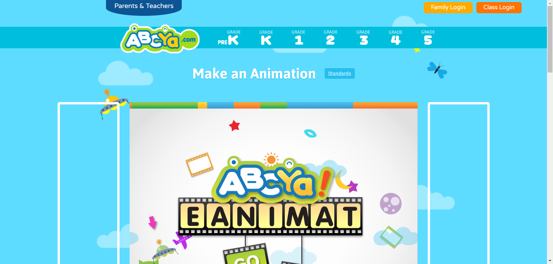 ABCYa Make an Animation How to make animations