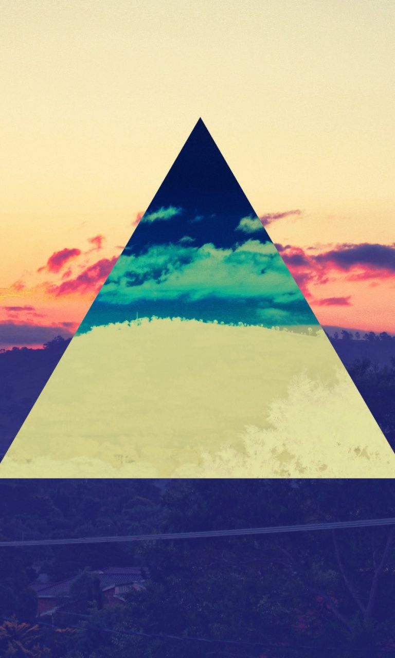 Wallpaper download mobile9 - Sunset Inverted Colour Triangle Wallpaper Mobile9 Click To Download Free Wallpapers