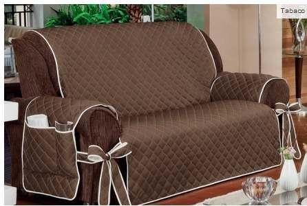 Capa protetor para sof 2 e 3 lugares ref 700 facilidades do lar pinterest sof s - Tapices para sofas ...