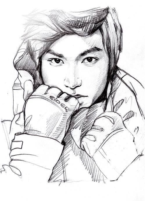 Line Art Kpop : Lee min ho i wish knew how to draw like this other