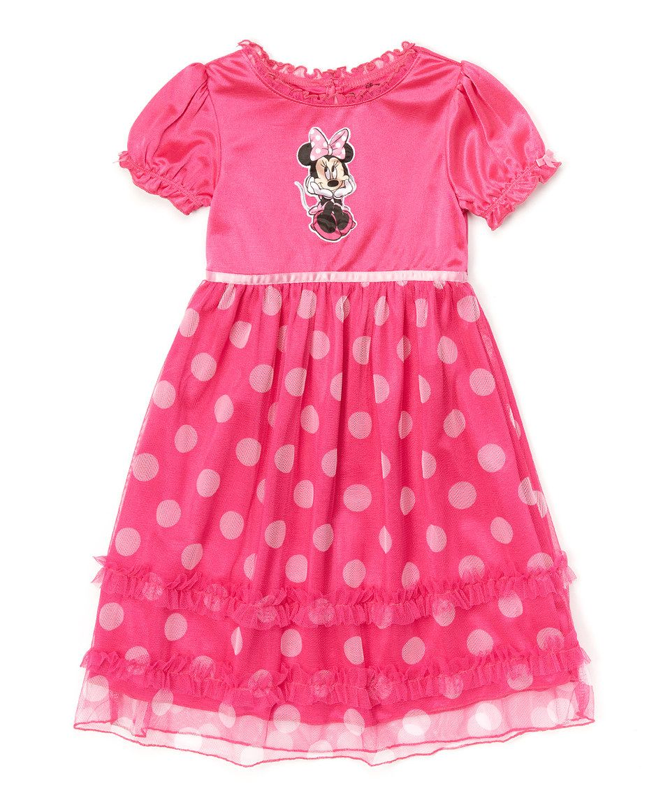 53c703f7e18b Another great find on  zulily! Pink Minnie Mouse Dress - Toddler   Girls by Minnie  Mouse  zulilyfinds