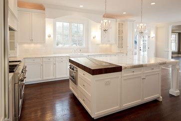 Where Did You Buy The Butcher Block Is That Marble Countertop Kitchen Island Cabinet Layout Butcher Block