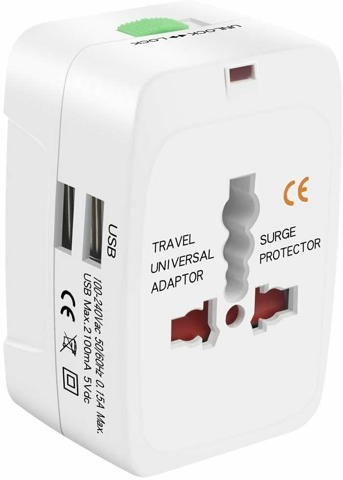 Pin On Universal Outlet Adapter