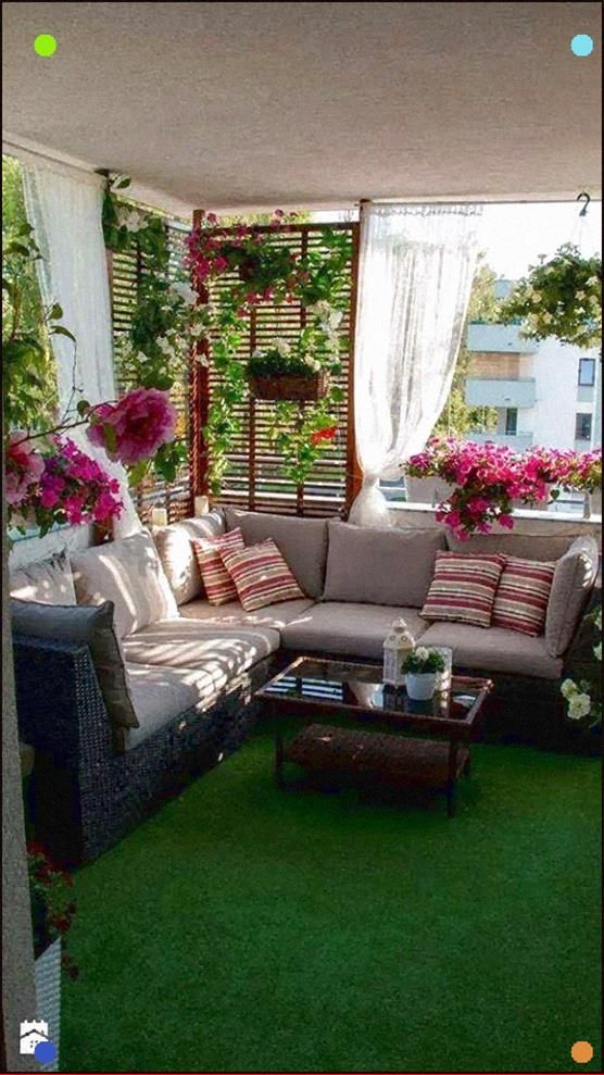 front porch idea for flowers would get sun and rain apartment balcony decorating balcony on christmas balcony decorations apartment patio id=20337