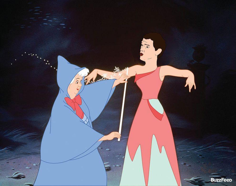 Como Cenicienta. | Este es Albert Rivera como todas las princesas Disney