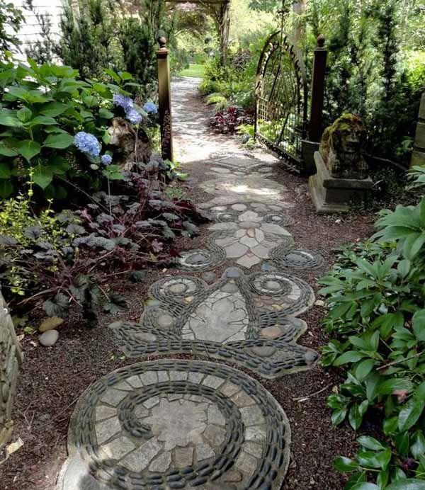 садовые дорожки фото
