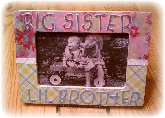 Big Sister Little Brother or Big Brother by handmadebykrysten ...