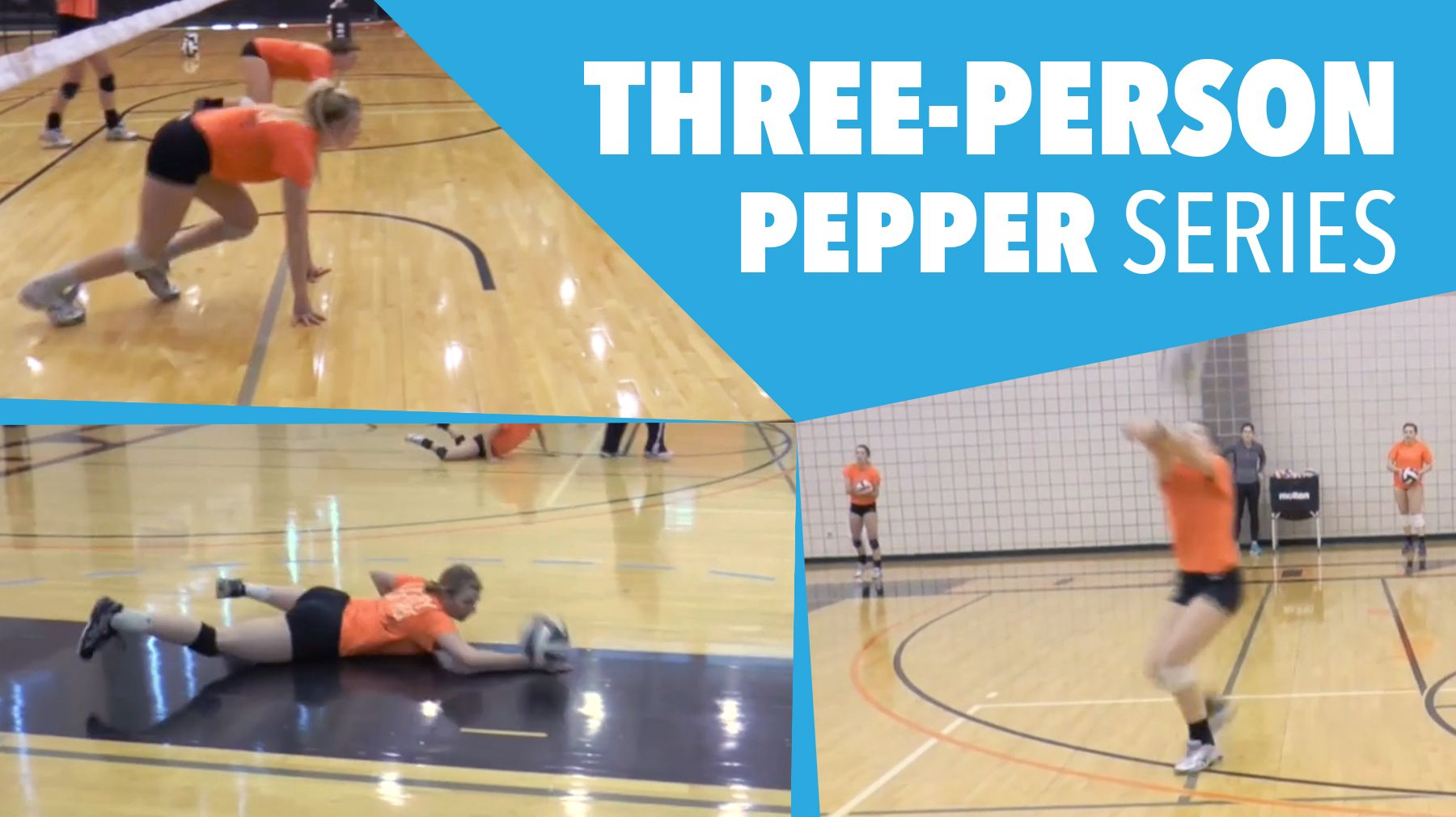Three Person Pepper Series The Art Of Coaching Volleyball Coaching Volleyball Volleyball Person