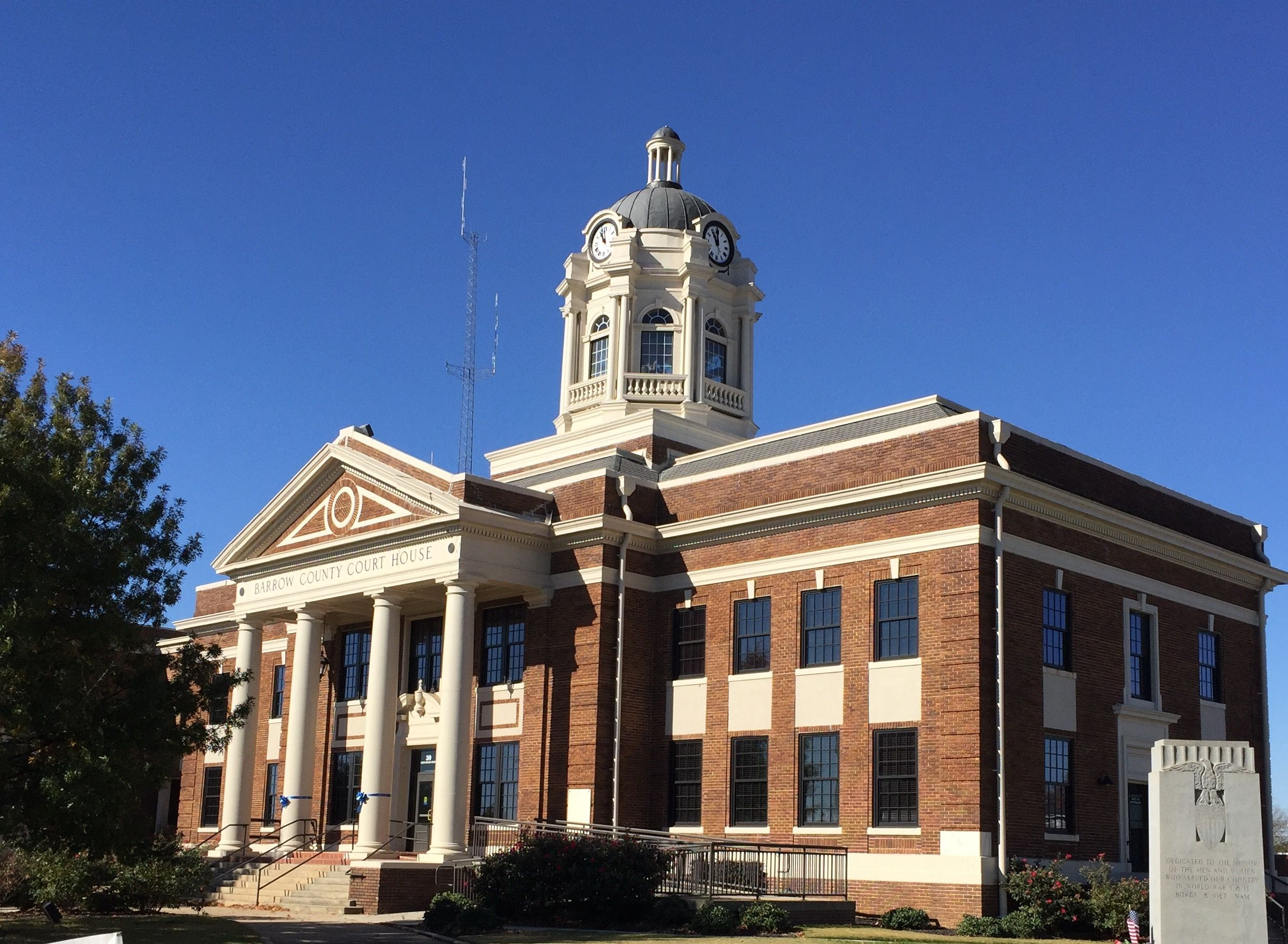Historic Barrow County Courthouse. Winder, Paul