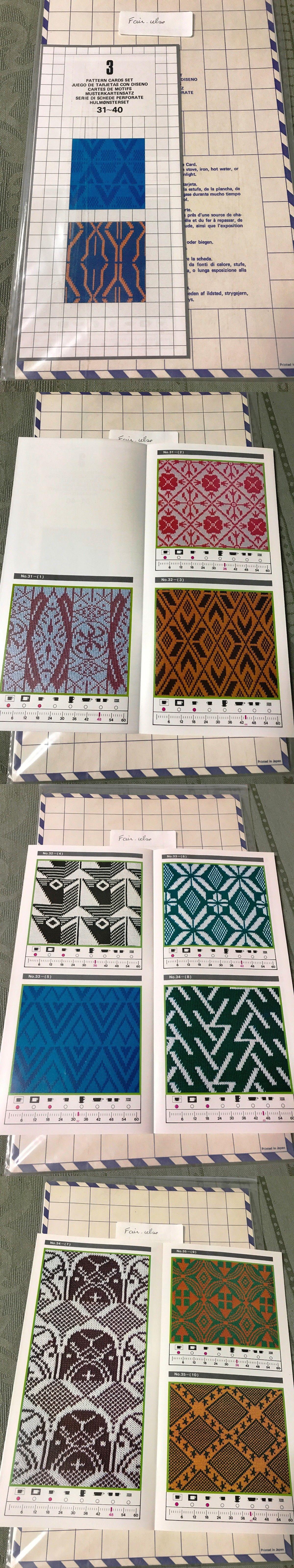 Machine Knitting Patterns 146375: Singer Studio Ec1 Electronic ...