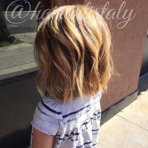 Little girl short haircut Hair by Aly Tompkins Mon Amie Salon