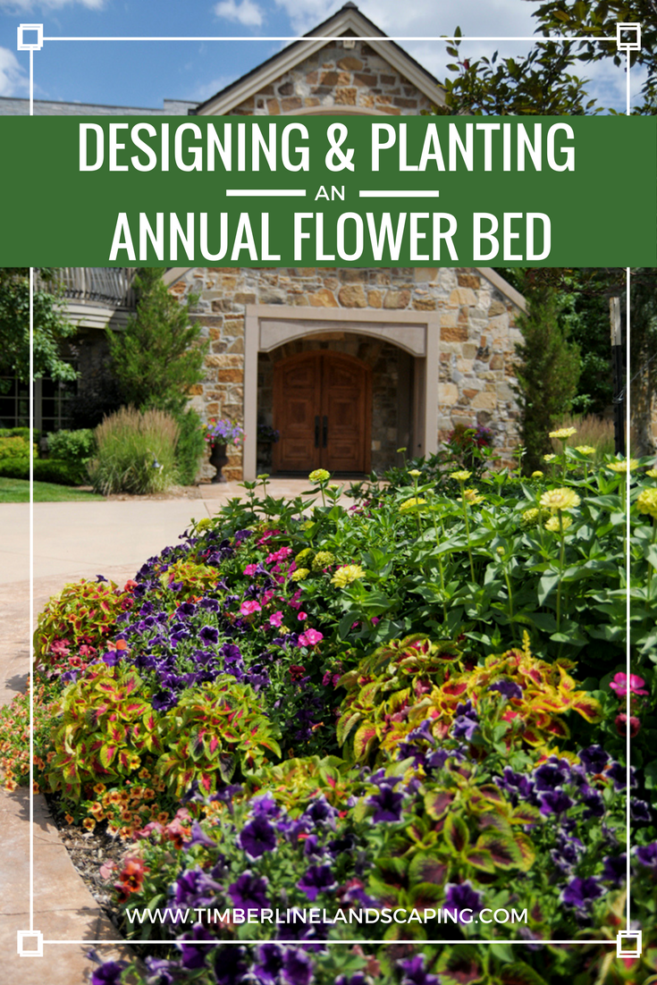 Year round plants for flower beds - Designing And Planting An Annual Flower Bed Timberline Landscaping Inc